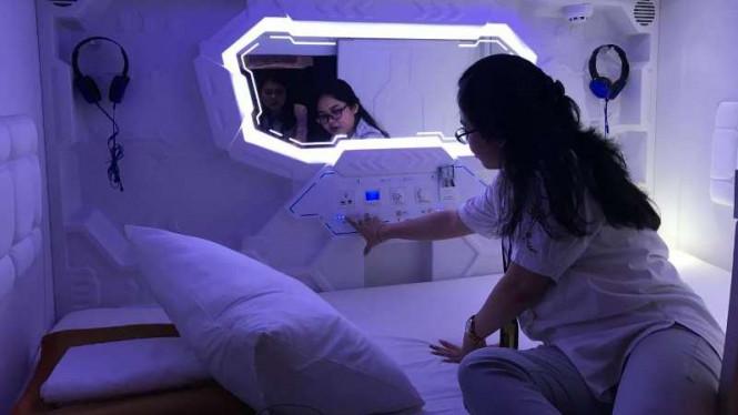 Begini Cara Ladies Memanfaatkan Hotel Kapsul Bandara