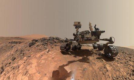 Selfie di Planet Mars
